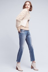 Anthropologie Levi's High Rise Kick Flare Jeans Denim Light