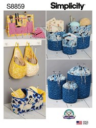 Simplicity Bags And Small Accessories Sewing Pattern 8859 One Size