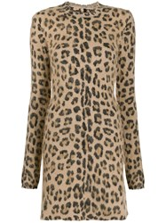 Unravel Project Leopard Print Mini Dress 60