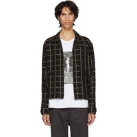 Hope Black And Gold Check Fifty Shirt Jacket