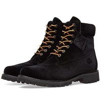 Off White X Timberland Boot Black