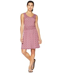 White Sierra Tangier Odor Free Printed Dress Watermelon Pink