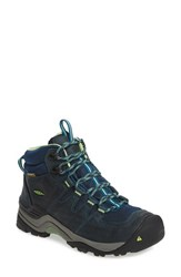 Keen Women's 'Gypsum Ii Mid' Waterproof Hiking Boot Midnight Navy Opaline