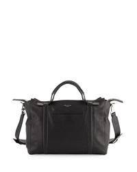 Rag And Bone Rag And Bone Aston Medium Leather Satchel Black