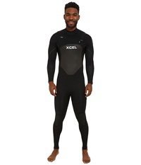 Xcel Wetsuits 3 2Mm X2 Axis Quickdry Full Suit All Black Silver Ash Logos Men's Wetsuits One Piece