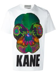 Christopher Kane Pansy T Shirt White