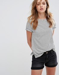Pull And Bear Stripe T Shirt Multicolour