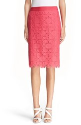 Women's Trina Turk 'Paltrow' Floral Lace Pencil Skirt