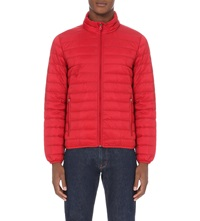 Armani Jeans Quilted Down Shell Jacket 4H Rosso Red