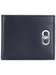 Salvatore Ferragamo Metal Detail Wallet Blue