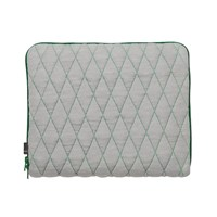 Hay Quilt Sleeve Laptop Cover Green 13