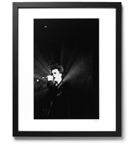 Sonic Editions Framed Robert Smith Print 17 X 21 Black