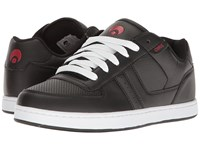 Osiris Relic Black Charcoal Red Men's Skate Shoes