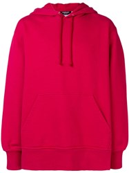 Calvin Klein 205W39nyc Branded Hoodie Red