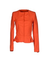Versus Suits And Jackets Blazers Women Coral