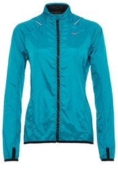 Mizuno Impermalite Sports Jacket Caribbean Sea Blue