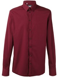 Dolce And Gabbana Buttoned Shirt Red
