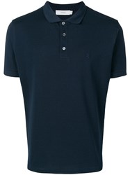 Pringle Of Scotland Classic Polo Shirt Blue