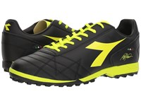 Diadora M.Winner Rb R Tf Black Yellow Fluo Soccer Shoes