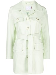 House Of Sunny Single Breasted Jacket Green