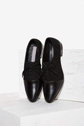 Been Around The Blocked Leather Oxford