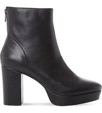 Steve Madden Peace Sm Leather Ankle Boot Black Leather