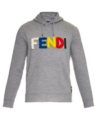 Fendi Monster Wool Hooded Sweater