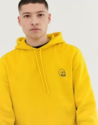 Cheap Monday Hoodie With Logo In Yellow