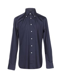 Mattabisch Shirts Dark Blue