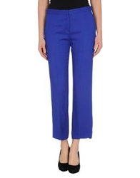 Marni Casual Pants Bright Blue