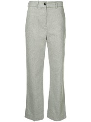 Rag And Bone Libby Cropped Trousers Grey