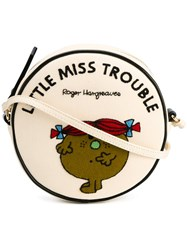 Olympia Le Tan Little Miss Trouble Shoulder Bag Nude And Neutrals