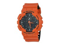 G Shock Ga 100L Orange Sport Watches