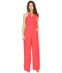Adelyn Rae Tank Jumpsuit W Pockets Strawberry Women's Jumpsuit And Rompers One Piece Red