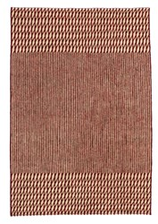 Nani Marquina Blur Red Rug Small 5 Ft 7 In X 7 Ft 10 In
