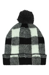 Michael Stars Women's Buffalo Check Beanie