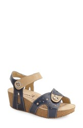 Women's Romika 'Florida 05' Sandal Blue Leather