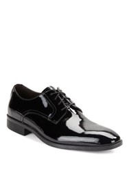 Black Brown Columbus Leather Oxfords Black Patent