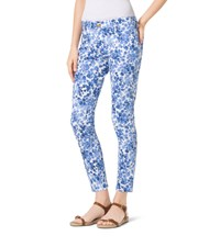 Michael Michael Kors Printed Cotton Sateen Pants