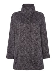 Tigi Fleece Lined Coat Black