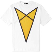 Raf Simons X Robert Mapplethorpe Yellow Arrow Tee White
