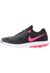 Nike Performance Flex Experience Run 5 Lightweight Running Shoes Anthracite Pink Blast Black White