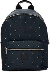 Paul Smith Ps By Green Dancing Dice Backpack
