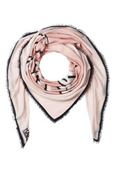 Karl Lagerfeld Printed Scarf With Silk