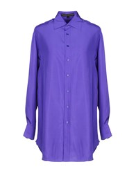 Ralph Lauren Black Label Shirts Purple