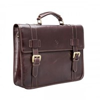 Maxwell Scott Bags Leather Backpack Briefcase