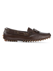 Canali Tassel Detail Loafers Brown