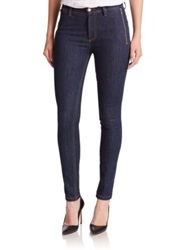 Marc By Marc Jacobs Uptown Zip Skinny Jeans Blue Stone