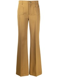 Red Valentino High Waisted Front Pleat Trousers 60
