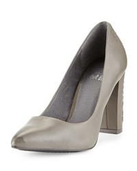 Elliott Lucca Janette Woven Leather Pump Smoke